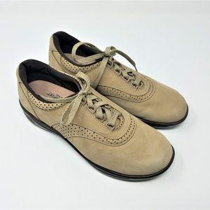 SAS Tan Suede Sneakers  1107